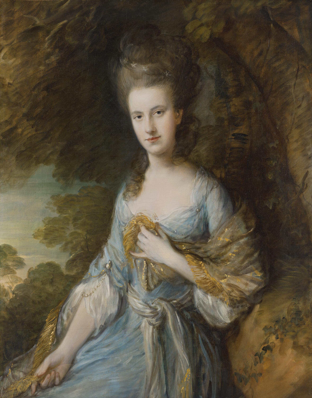 Retrato de Sarah Buxton - Gainsborough, Thomas   Museo Nacional  Thyssen-Bornemisza