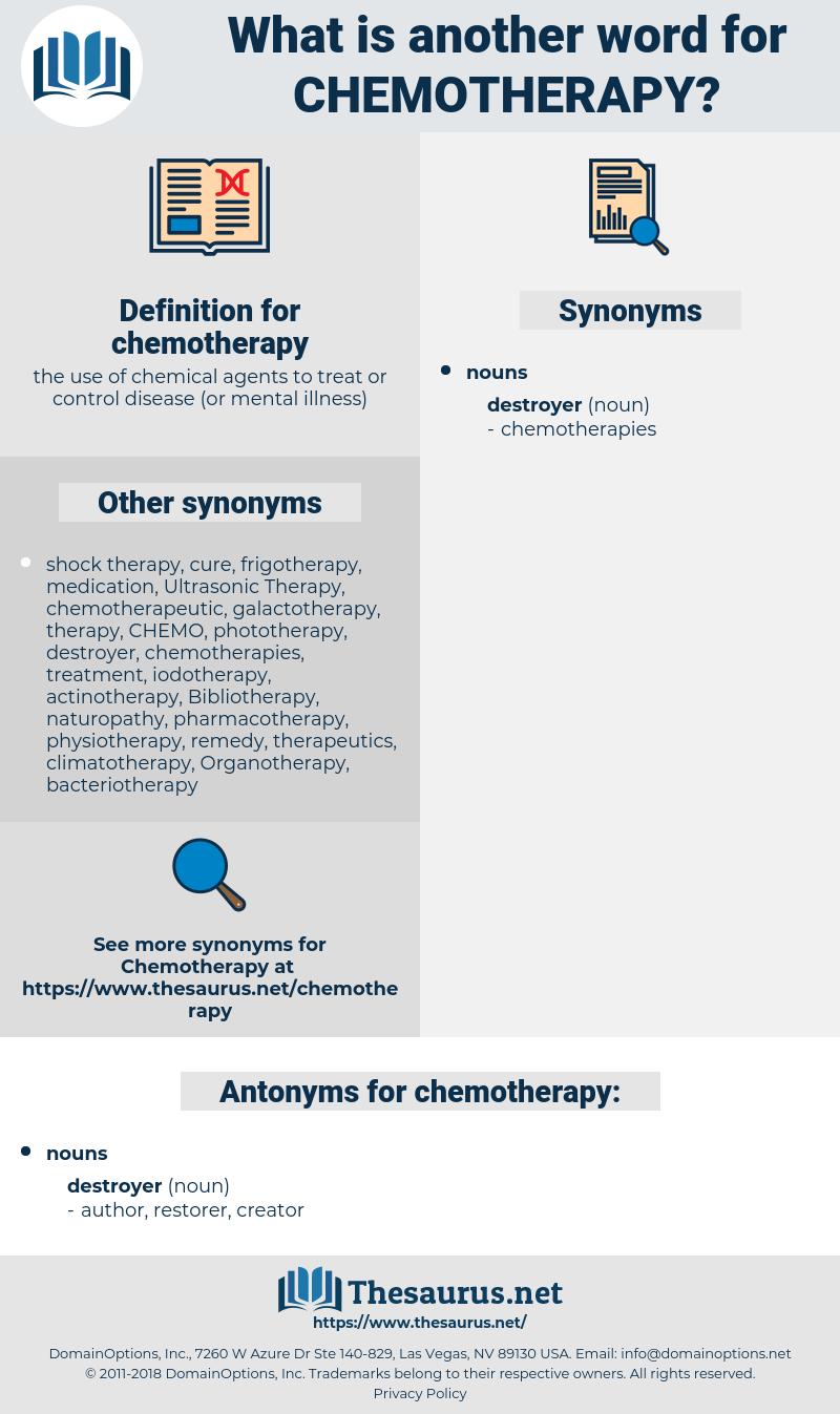 chemotherapy, synonym chemotherapy, another word for chemotherapy, words  like chemotherapy, thesaurus chemotherapy