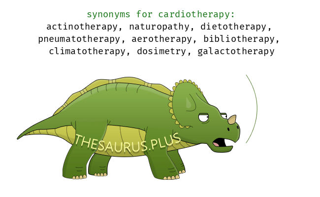 Similar words of cardiotherapy