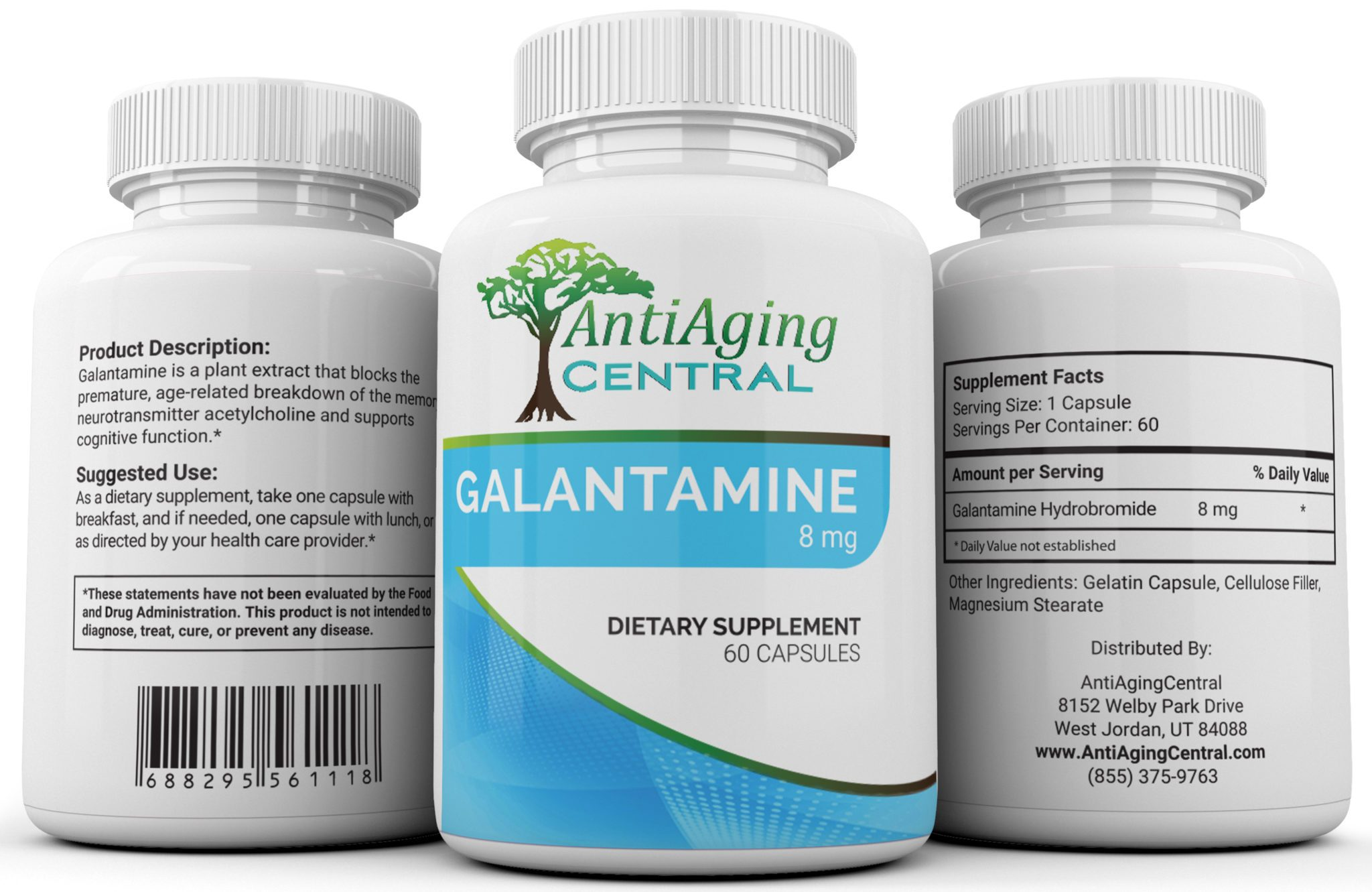 Galantamine, Antiaging central