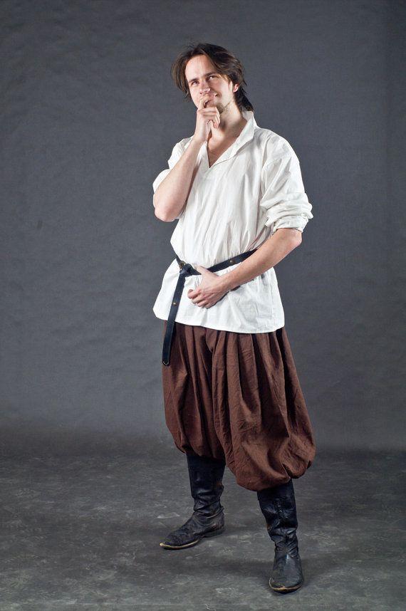 Galligaskins LARP Fantasy Baggy Viking Trousers by DressCoat