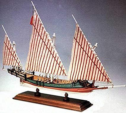 Amati Greek Galliot Privateer Wooden Ship Model Kit