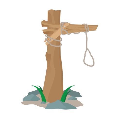 ilustración de gallow