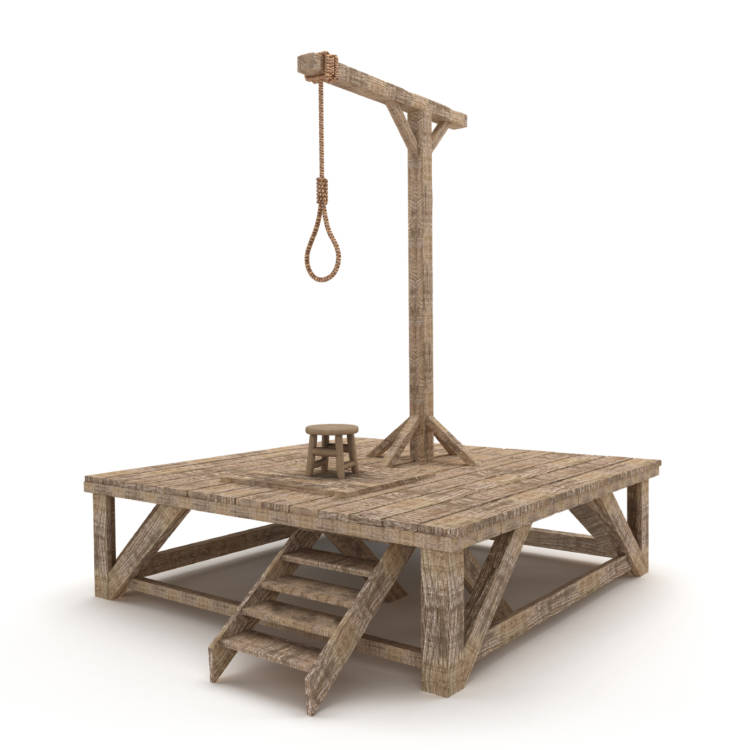 The Notorious Guy Who Builds Gallows for a Living