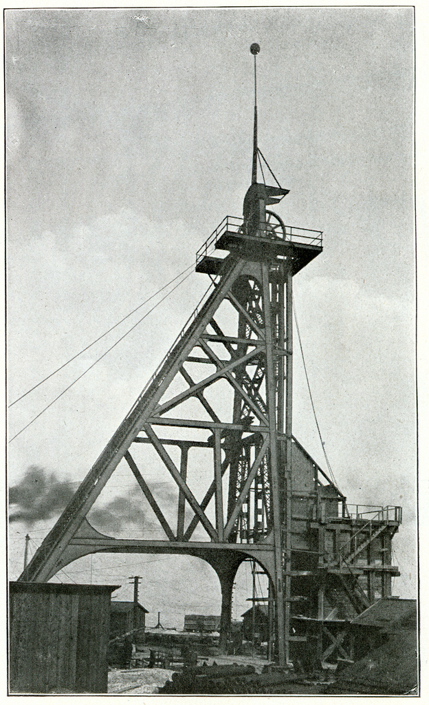 Steel Gallows Frame, Butte, Montana. (1900) | by Butte-Silver