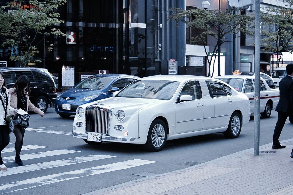 MITSUOKA Galut limousine.