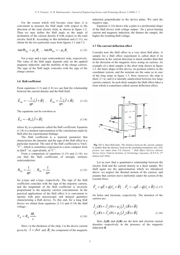 galvanomagnetic effect
