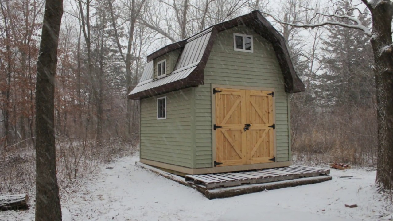 Gambrel Shed Construction