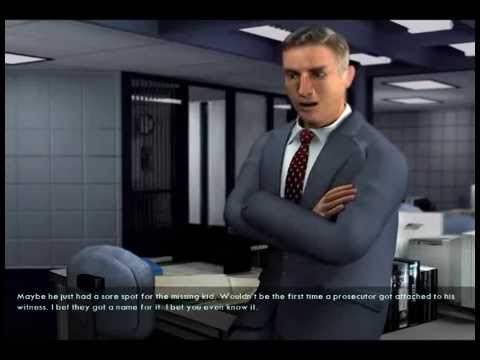 Law & Order: Criminal Intent (Video Game) Walkthrough - Case #1 Part 3