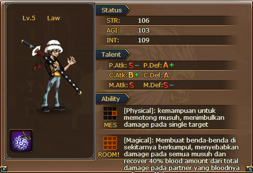 One Piece Game Law Trafalgar Law