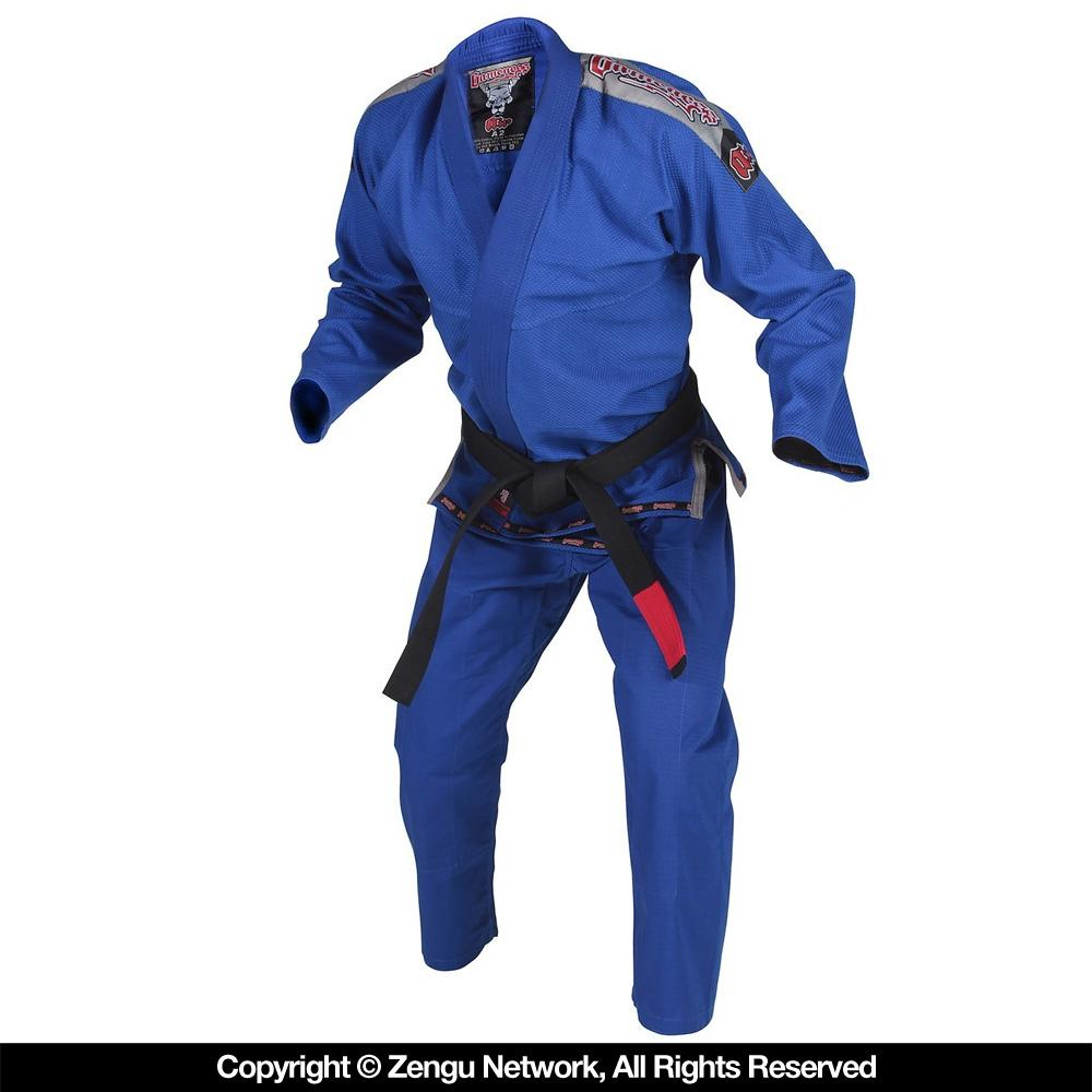Gameness Air Blue Jiu Jitsu Gi .