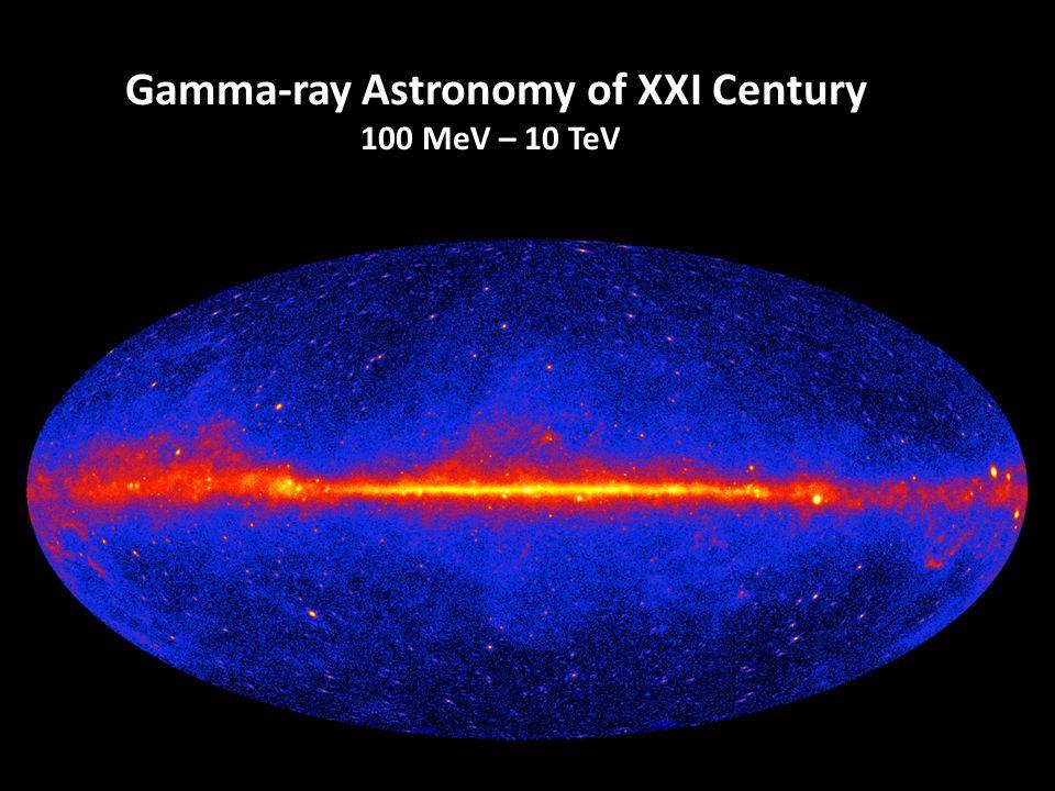 1 Gamma-ray Astronomy of XXI Century 100 MeV – 10 TeV