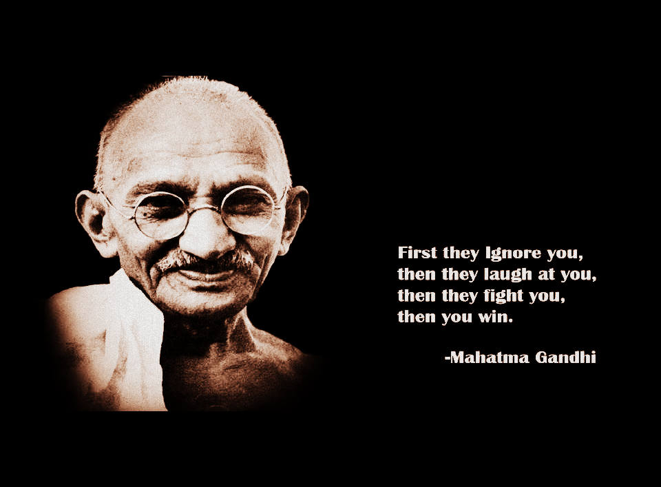 Gandhian Era: Quote of Mahatma Gandhi