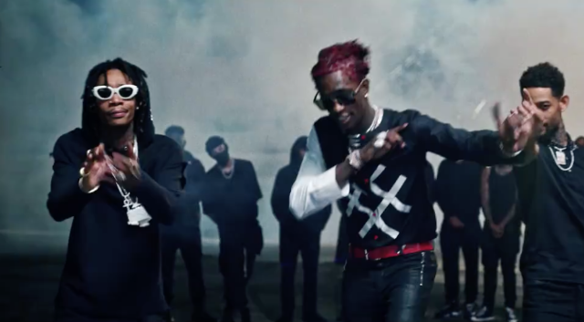 "Video: Young Thug, 2 Chainz, Wiz Khalifa, PnB Rock – ""Gang Up"" (From Fate  of the Furious)"