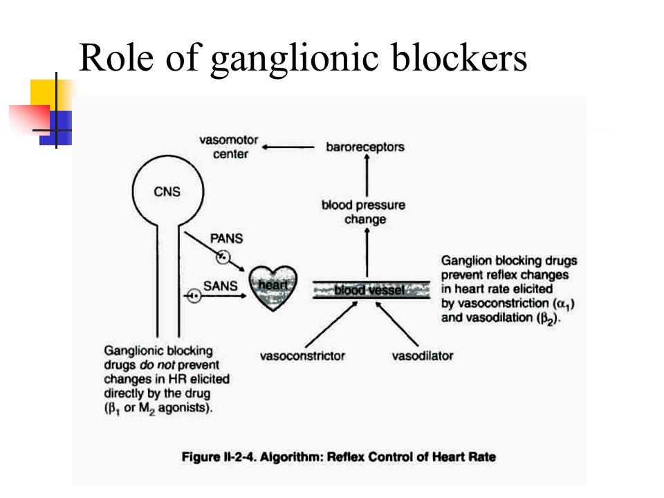 19 Role of ganglionic blockers