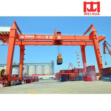 China Top brand RMG rail mounted container gantry crane for gantry  crane