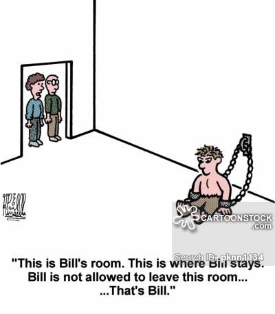 Gaoled cartoon 1 of 3