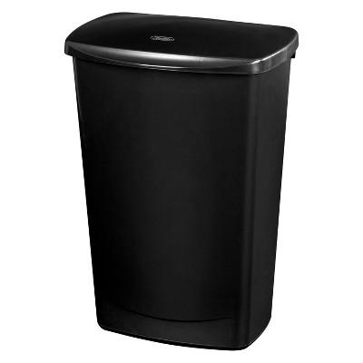 Sterilite 44qt/11gal Lift Top Garbage Can Black