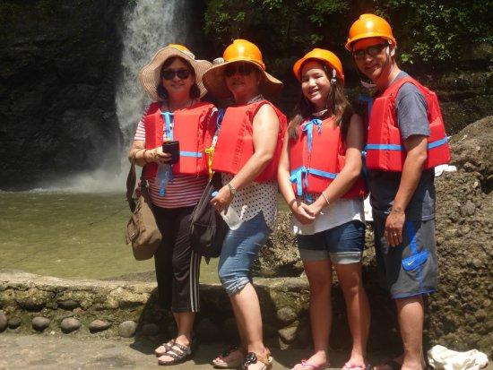 Pagsanjan Falls: Garbed and geared