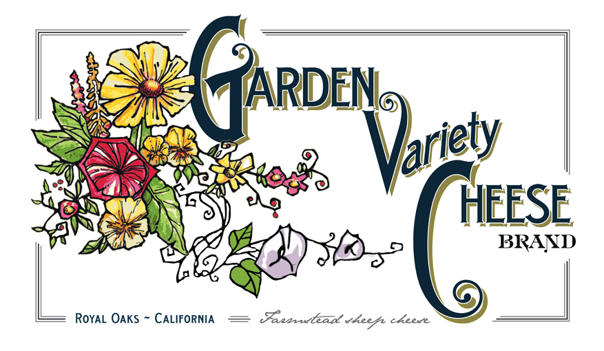 Garden Variety Cheese is a small farmstead cheese business based in  Northern Monterey County on 40 acre Monkeyflower Ranch. We began commercial  milking and