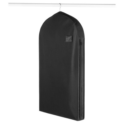 Whitmor Deluxe Suit Garment Bag - Black