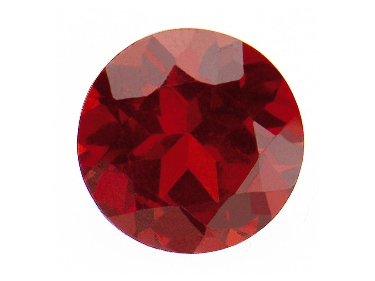 Garnet, Round, 4mm