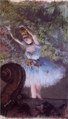 Dancer - Edgar Degas Start Date: c.1877 Completion Date:c.1878
