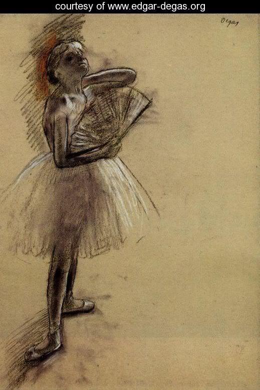 DEGAS H. G. Edgar Degas: French (Paris 1834 - 1917 ) - Pastel Drawing