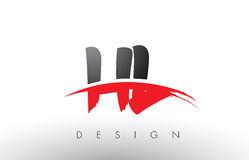 HL De H L Cepillo Logo Letters Con El Frente Rojo Y Negro Del Cepillo De  Swoosh Stock de ilustración - Ilustración de fuente, moderno: 93386972