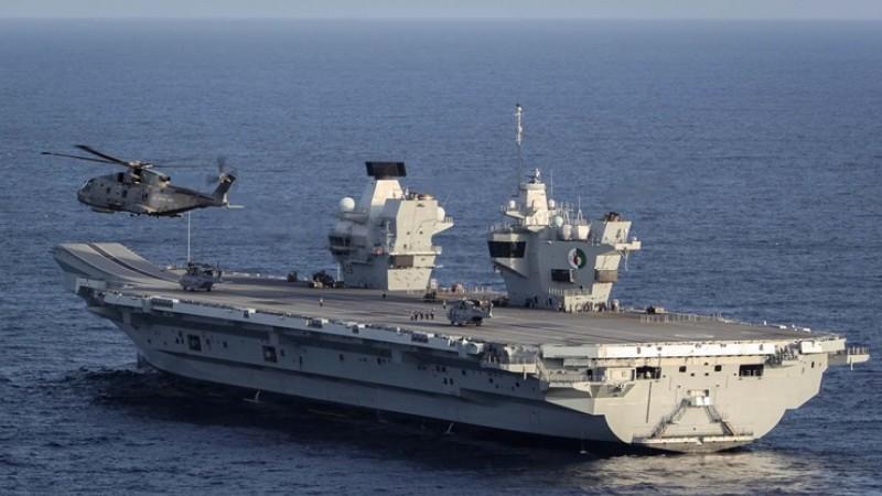 HMS Queen Elizabeth (Picture: Royal Navy).