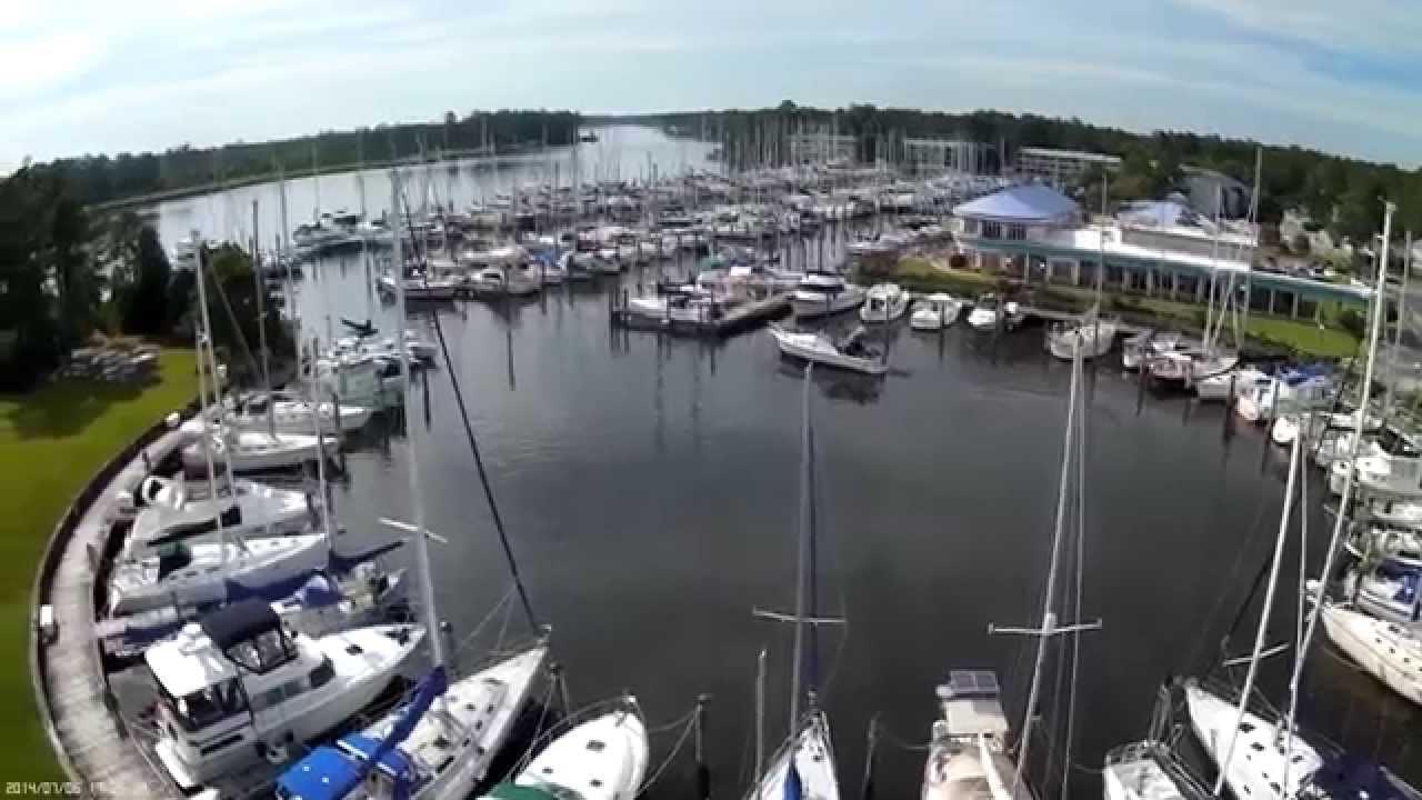Fishing Marina in Fairfield Habor, NC