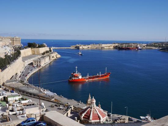 Valletta Waterfront: Valletta Habor.