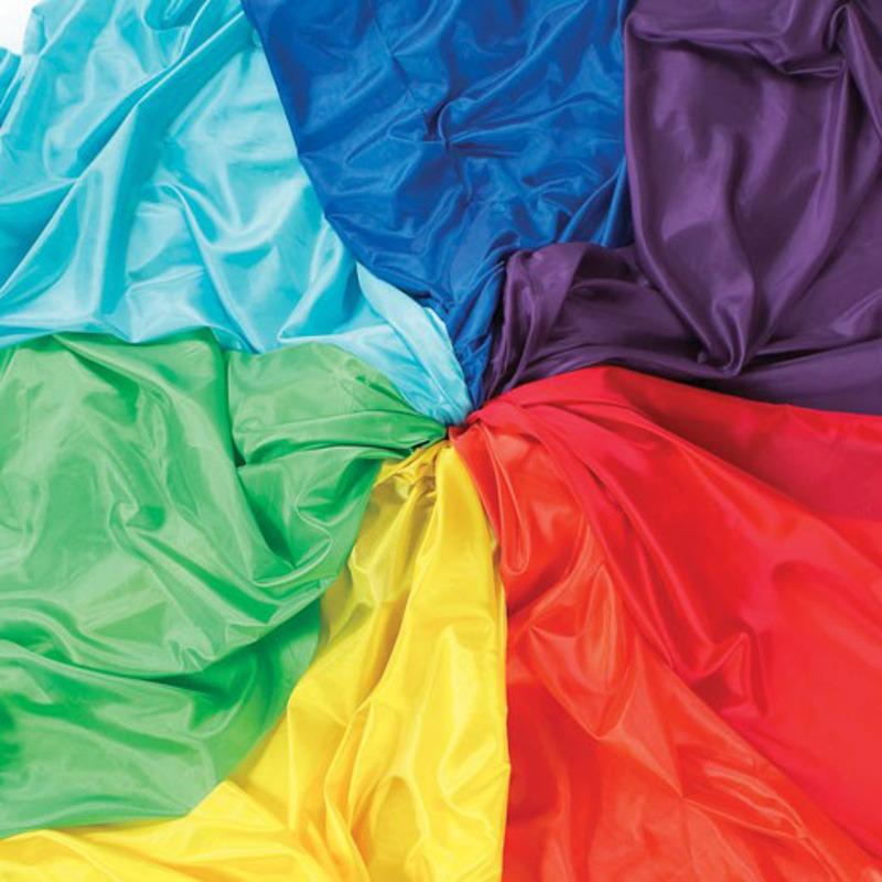 Rainbow Habutae Fabric Pack
