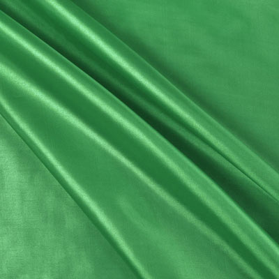 Flag Green Habutae Fabric