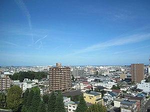 Sky line of HachinoheCity