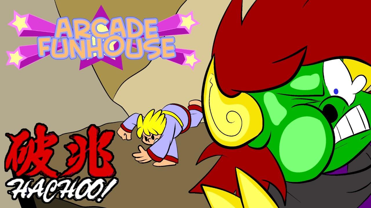 Arcade Funhouse - Hachoo!