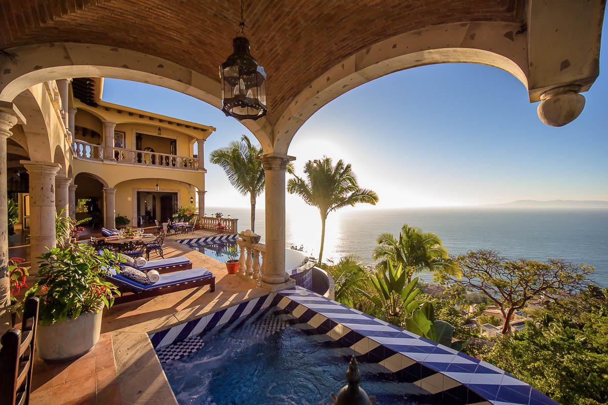Hacienda de los Santos PV - Conchas Chinas - Puerto Vallarta - Mexico -  Luxury Vacation