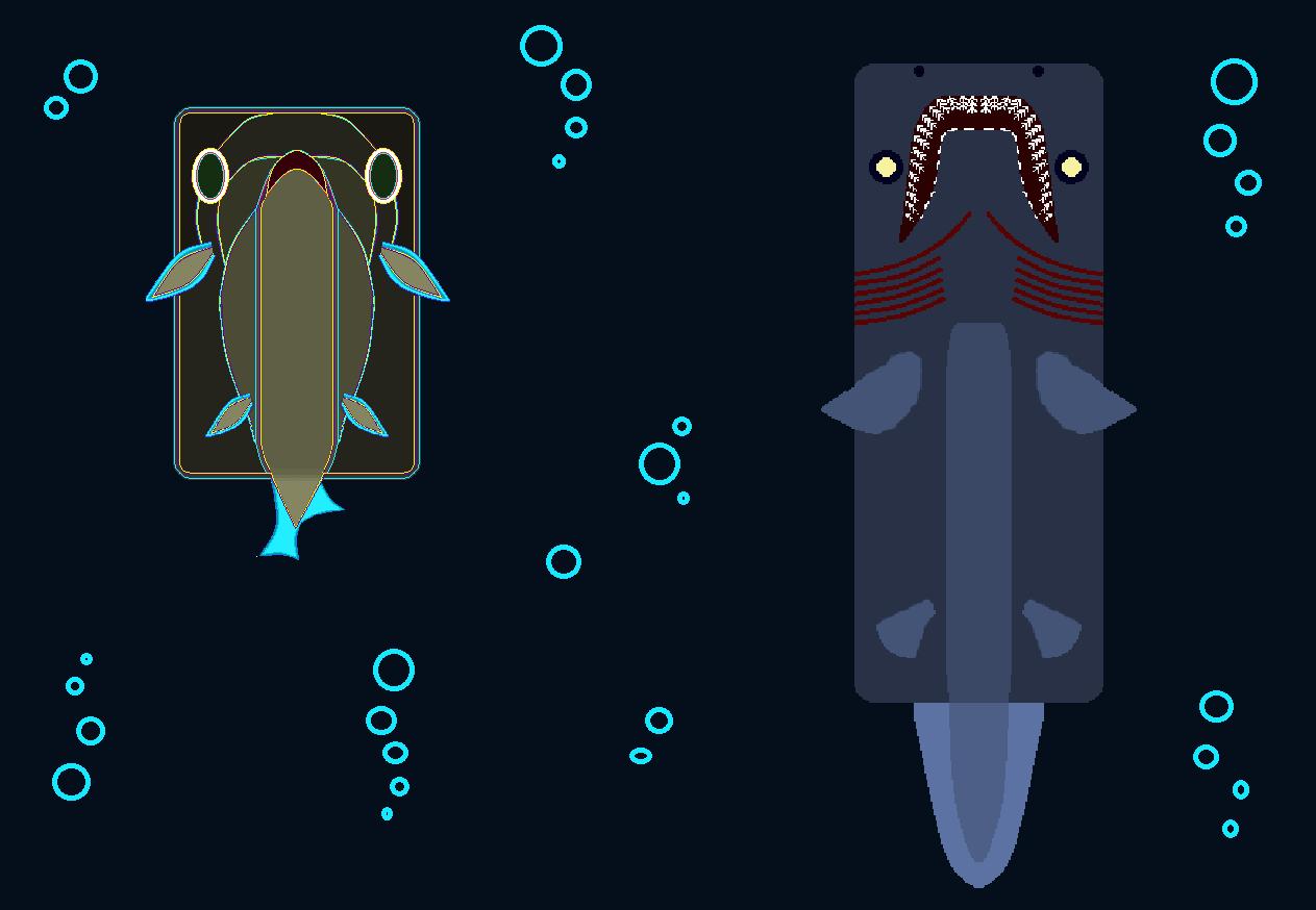 Hadopelagic Zone Sharks Concept