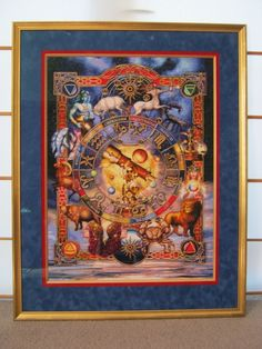The Zodiac 1, Ciro Marchetti photo by HAED-Gallery Cross Stitch Art, Cross