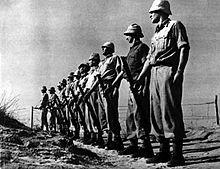 Haganah members in training (1947)