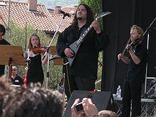Haggard en el Evolution Festival, Italia (2006).