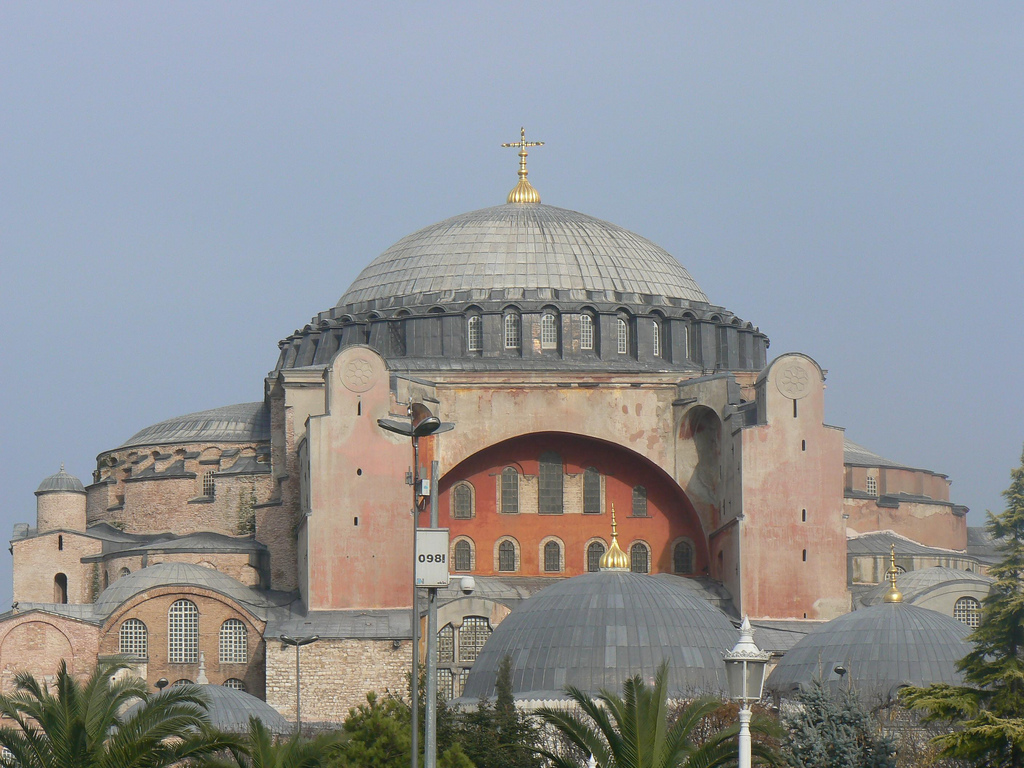 Lea_from_Armenia Hagia Sophia Cathedral with Cross / Constantinople | by  Lea_from_Armenia