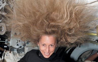 Hair in Space