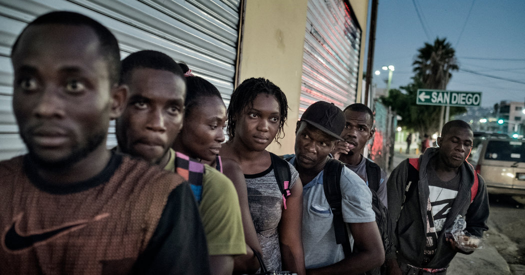 Haitians, After Perilous Journey, Find Door to U.S. Abruptly Shut - The New  York Times