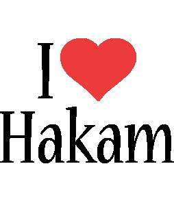 Hakam i-love logo