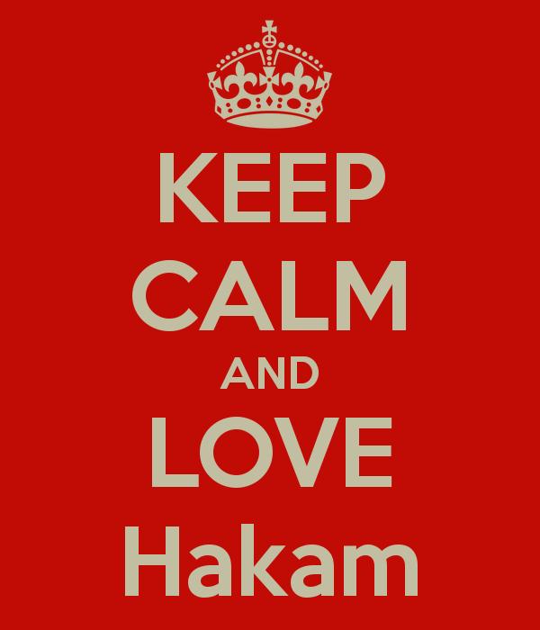 KEEP CALM AND LOVE Hakam