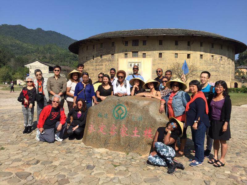 Chinese Village Plays Host to Jamaican-American Hakka descendants