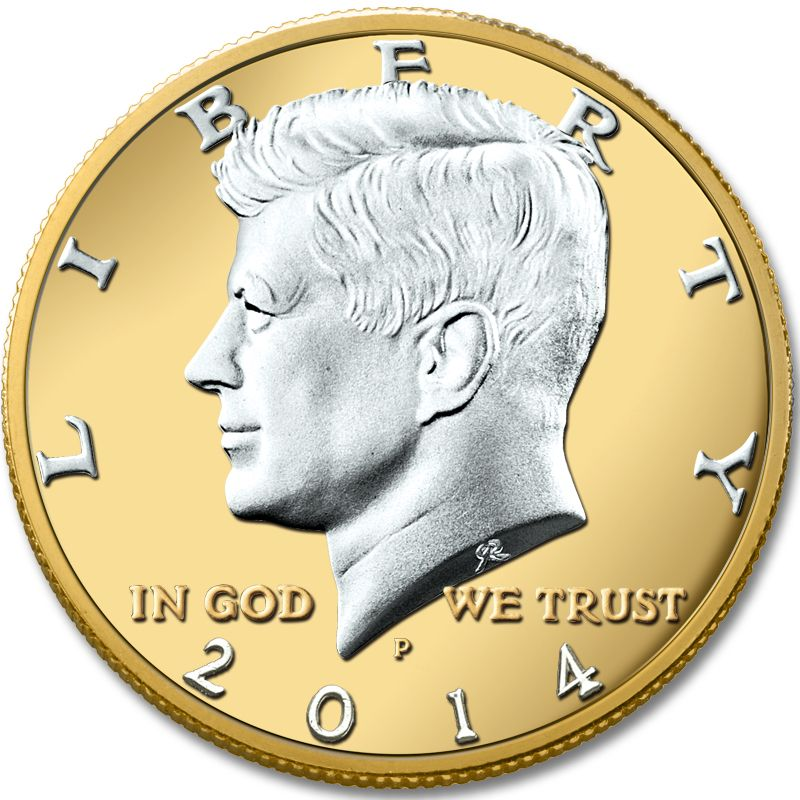 The Platinum and Gold-Highlighted Kennedy Half-Dollar Collection