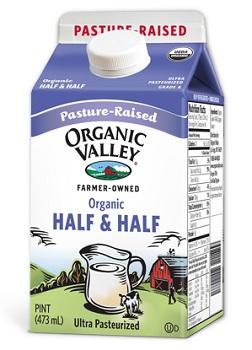 Half and Half carton