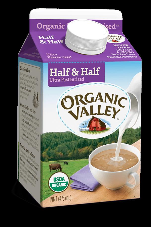Half & Half, Ultra Pasteurized, Pint